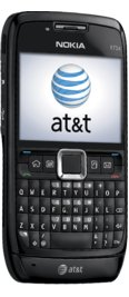 Nokia E71x Black for AT&T