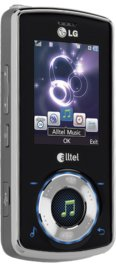 LG Rhythm AX585 Black for Alltel Wireless