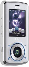 LG Rhythm AX585 White for Alltel Wireless