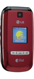 LG Swift AX500 Red for Alltel Wireless