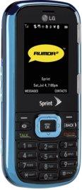 LG Rumor 2 Vibrant Blue for Sprint PCS