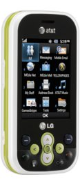 LG Neon White for AT&T