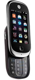Motorola Evoke QA4 Black for Alltel Wireless