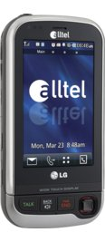 LG Tritan AX840 Black for Alltel Wireless