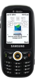 Samsung t369 Column Prepaid Kit Black for T-Mobile Prepaid