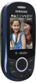 Samsung T249 Prepaid Kit Blue for T-Mobile Prepaid