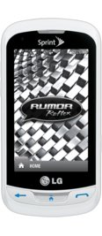 LG Rumor Reflex White for Sprint