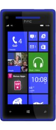 Windows Phone 8X by HTC Blue 4G for T-Mobile