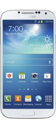Samsung Galaxy S4, White Frost 16GB for Bluehost