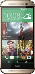 HTC One M8, Amber Gold 32GB for Amazon