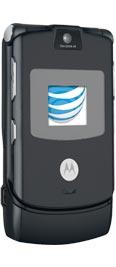 Motorola RAZR V3 Black for AT&T