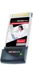 Novatel V620 EV-DO PC Card for Verizon Wireless
