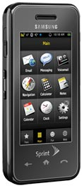 Samsung Instinct Black for Sprint PCS